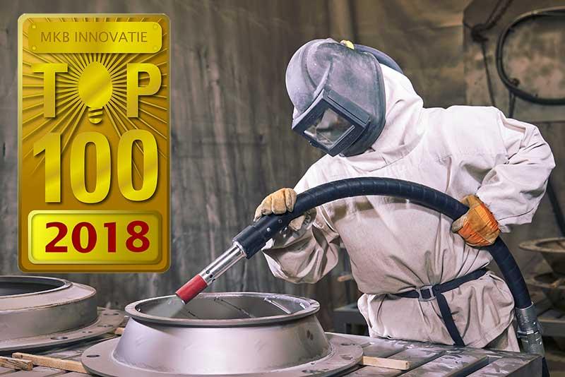 Kalfsvel Metaalcoating BV, 67e plaats MKB Innovatie Top 100 2018